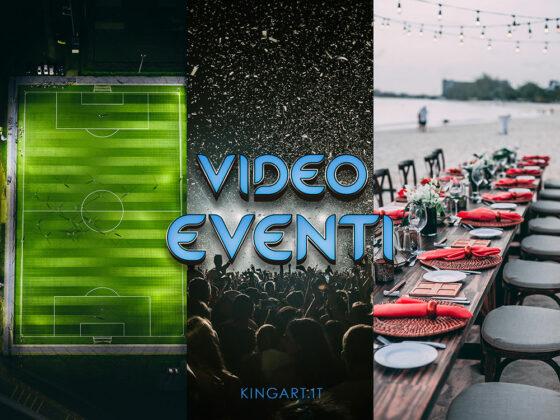 Riprese video per Eventi