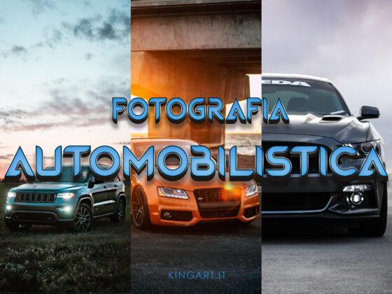 FOTOGRAFIA AUTOMOBILISTICA